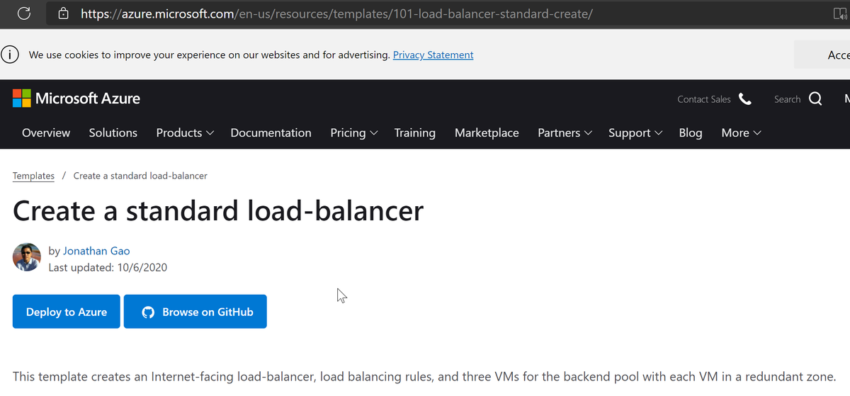 Create a load balancer in Azure